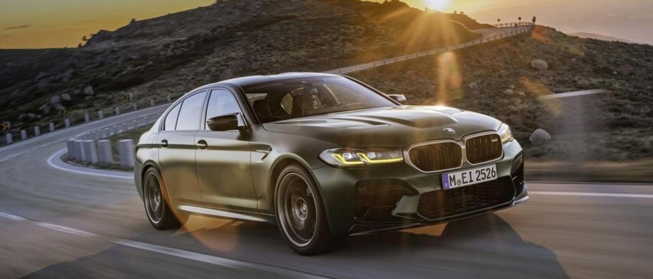 BMW M5 CS; esencia de competición