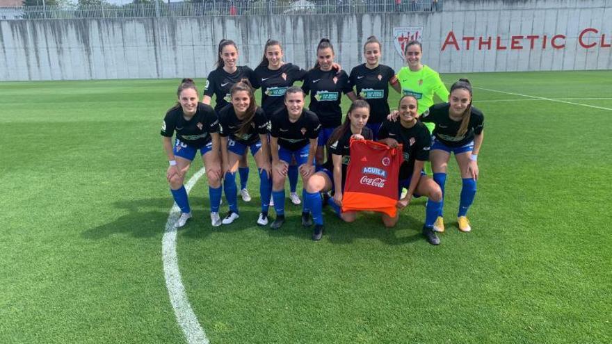 El Sporting Femenino pierde contra el Athletic B y se complica la salvación