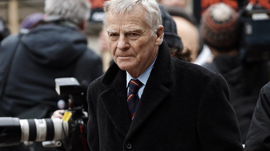 Muere el expresidente de la FIA Max Mosley