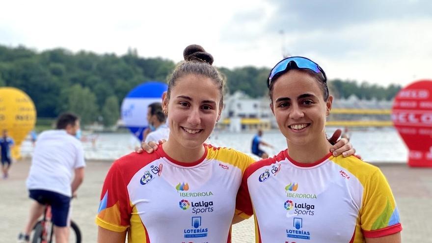 Teresa Tirado y Marta Figueroa, a la final del Europeo sub-23