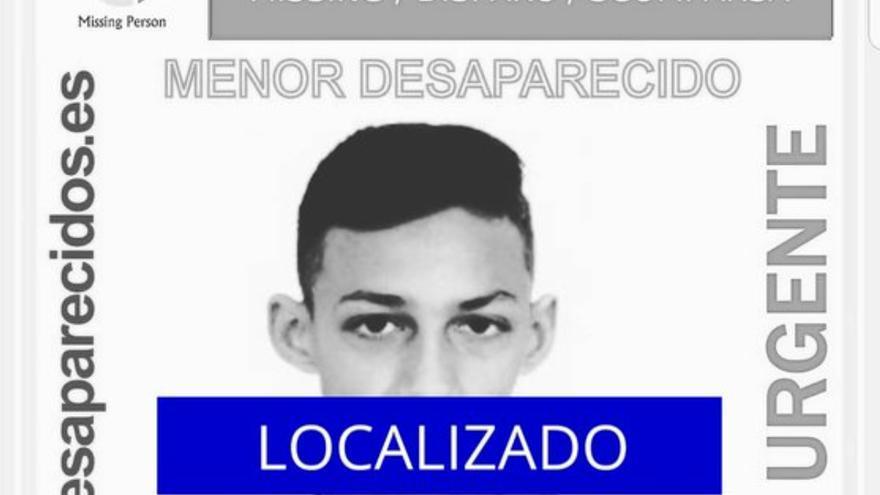 Localizados dos de los cinco menores desaparecidos en Tenerife