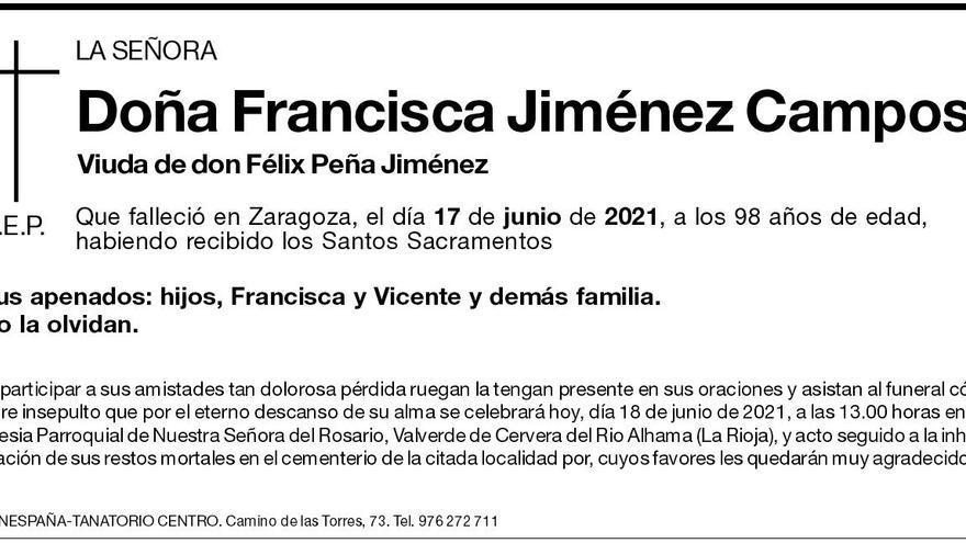 Francisca Jiménez Campos