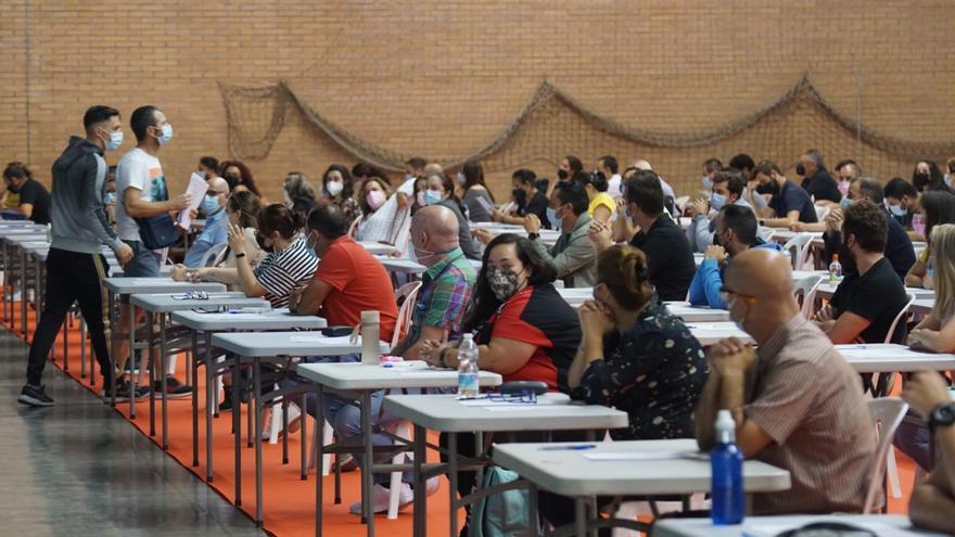 Examen de Sadeco para 37 plazas de peón limpiador