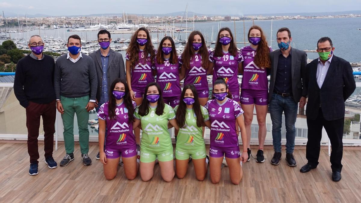 El Voley Ciutat Cide vestirá con los colores de la Fundació Palma Futsal