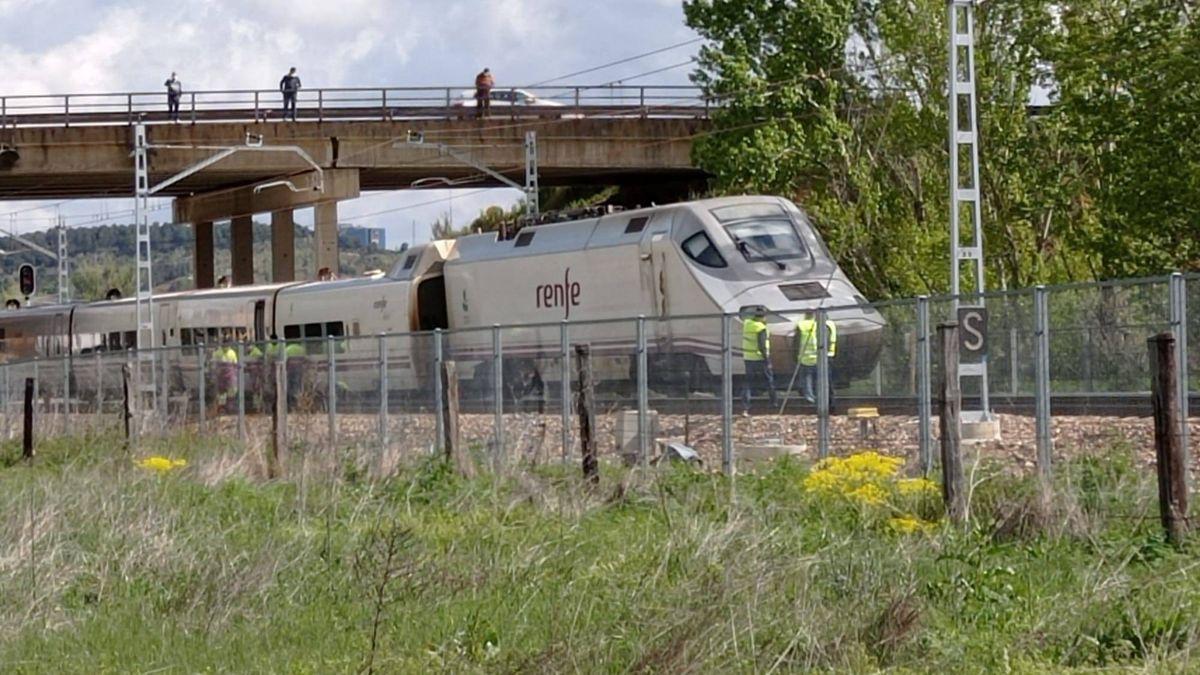 El tren accidentado