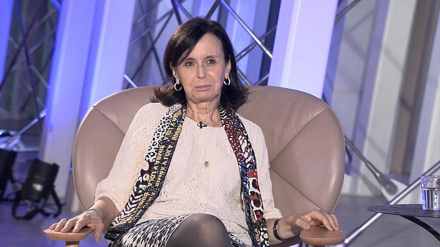"""La jurista María Emilia Casas, en """"Os nosos sabios"""", en la TVG"""