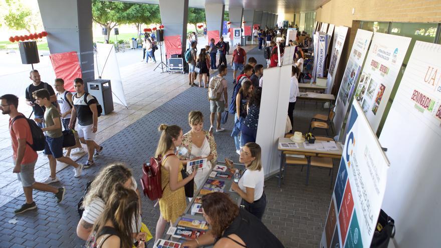 Así será la Bienvenida de la Universidad de Alicante la próxima semana