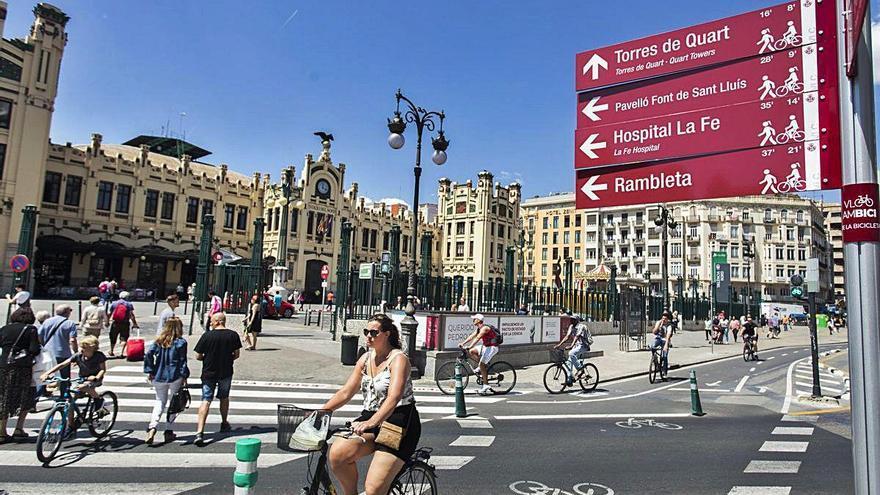 València es la mejor ciudad de toda España para moverse en bicicleta