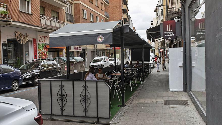 Ciudadanos pide agilizar los trámites para los cerramientos de terrazas en Zamora