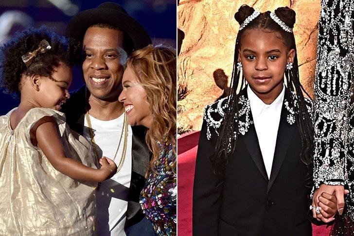 La hija de Beyoncé y Jay-Z.