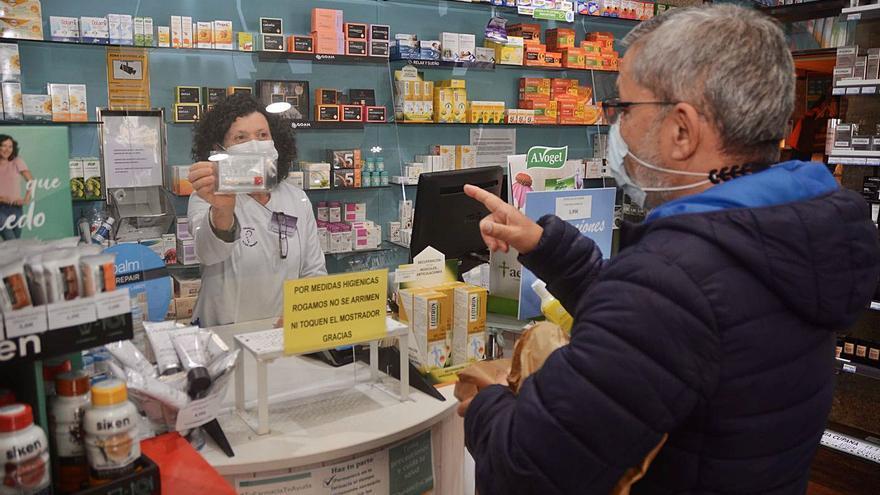 Cerca de 6.500 personas se hicieron ya el test de saliva en 98 farmacias del área