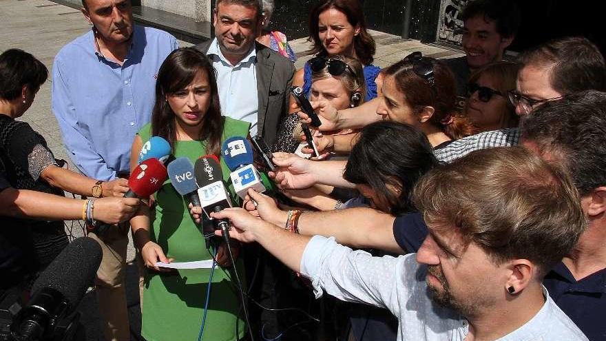 La Portavoz del Grupo Municipal de Ciudadanos León, Gemma Villarroel.