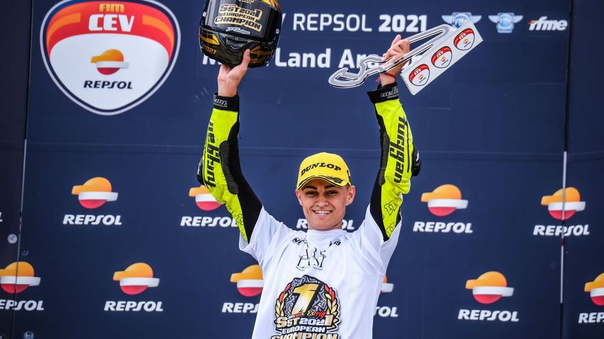 Alex Escrig, campeón de Europa de Superstock600