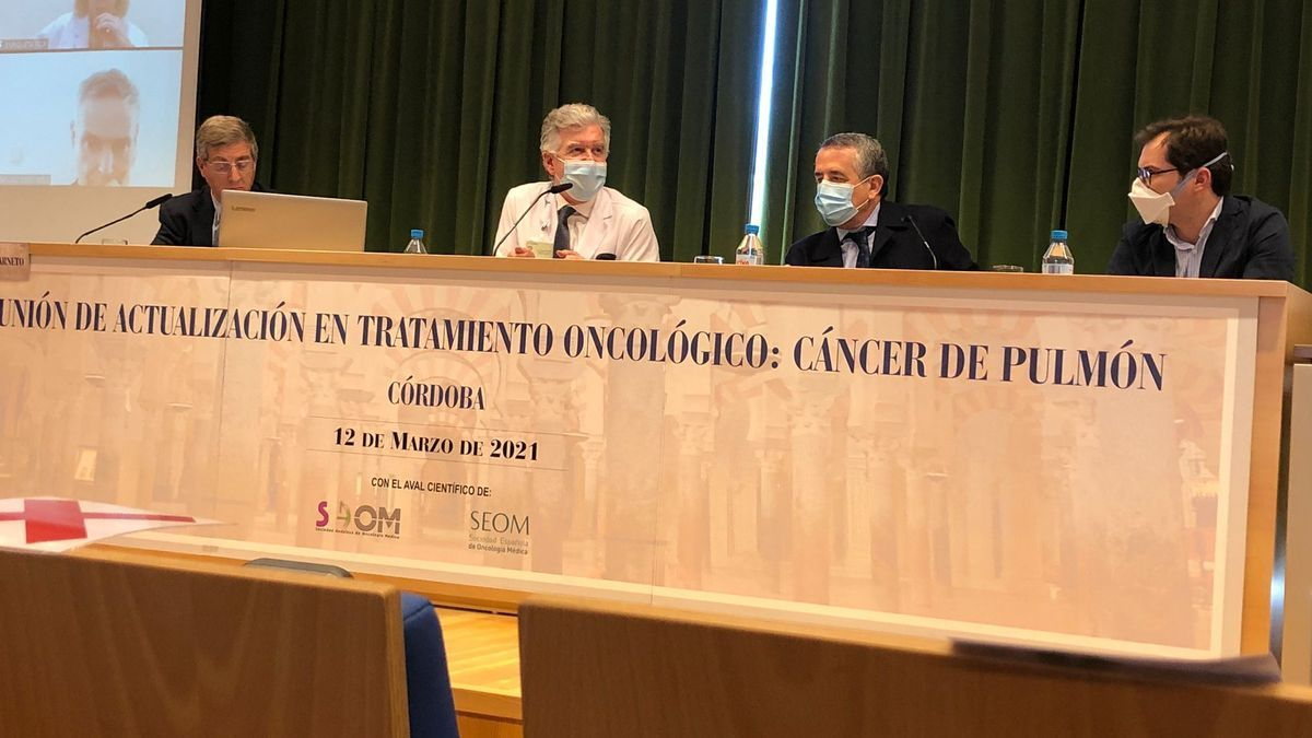 Jornada sobre el cáncer de pulmón en el Imibic.