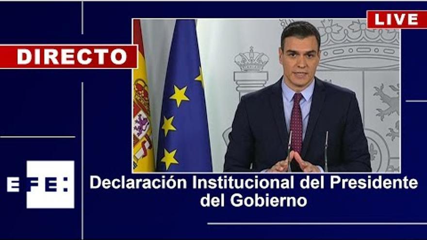 Pedro Sanchez comparece para explicar la aprobación de los indultos a los líderes del 'procés'