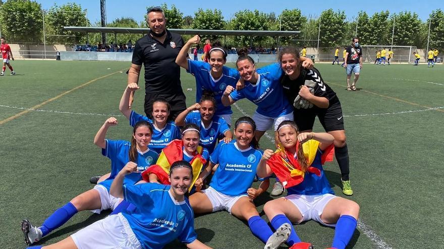 Gesta del fútbol zamorano en la Women's International Cup