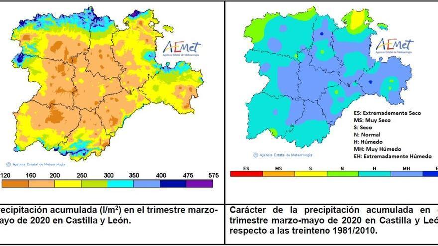 El año hidrológico se cierra con un 13% más de lluvia de lo habitual en Zamora