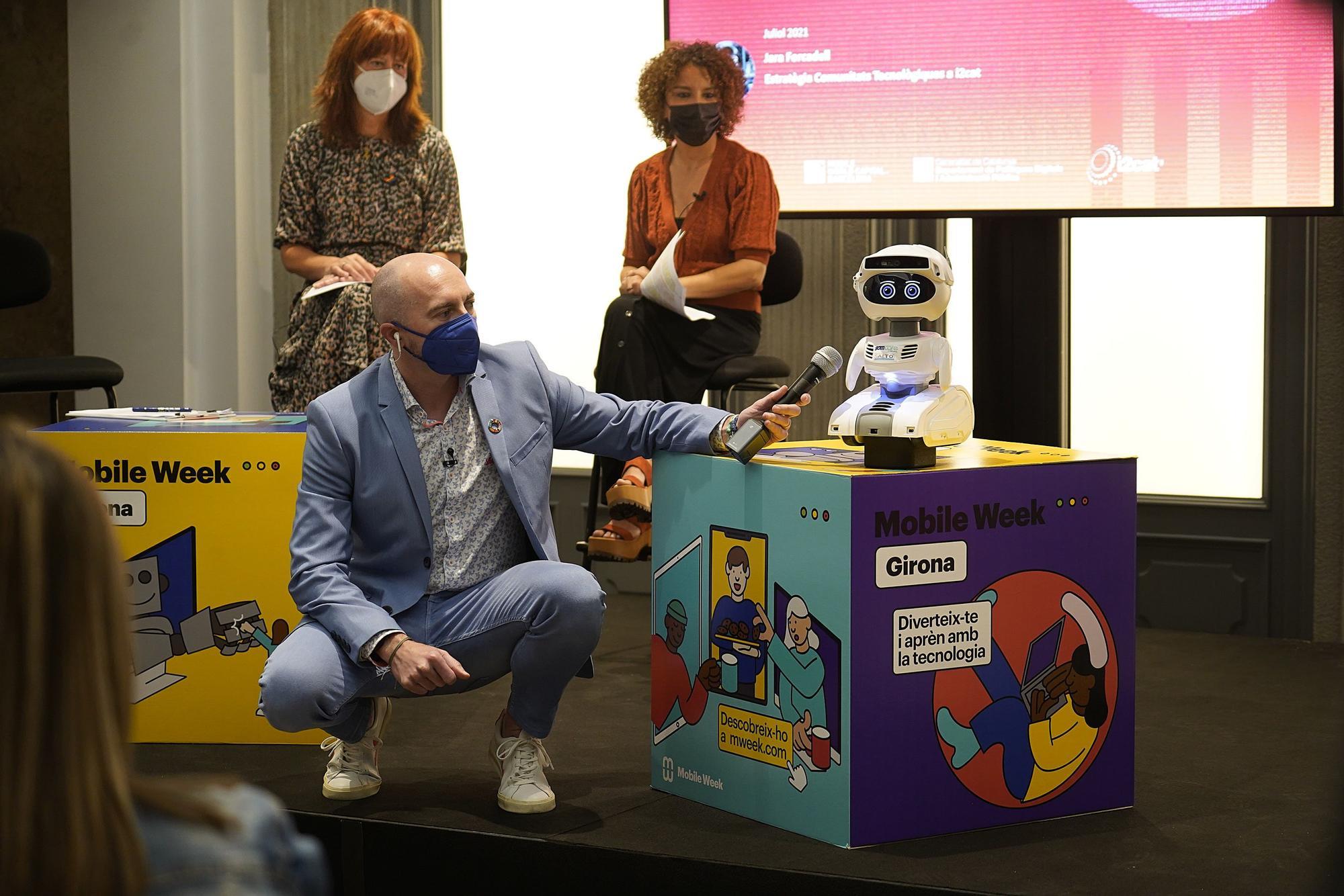 Inauguració de la Mobile Week Girona