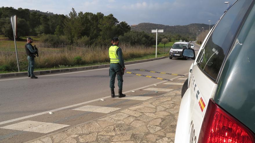 Un coche invadió el carril contrario en el accidente con siete heridos en Ibiza