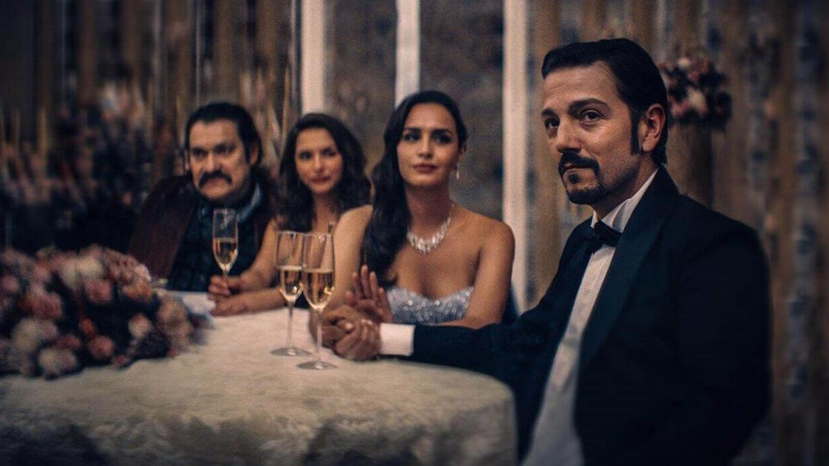 Diego Luna protagoniza 'Narcos: México'.