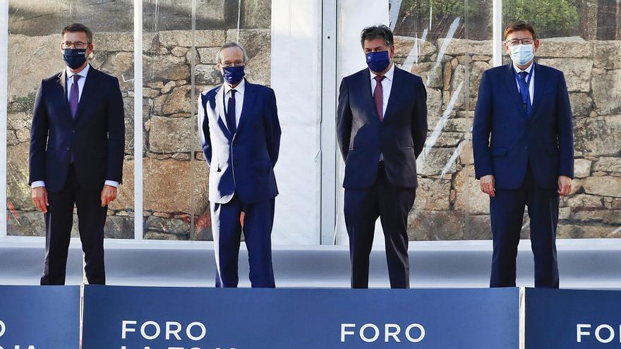Feijóo, Puig, Mañueco y Page reclaman rigor en la financiación