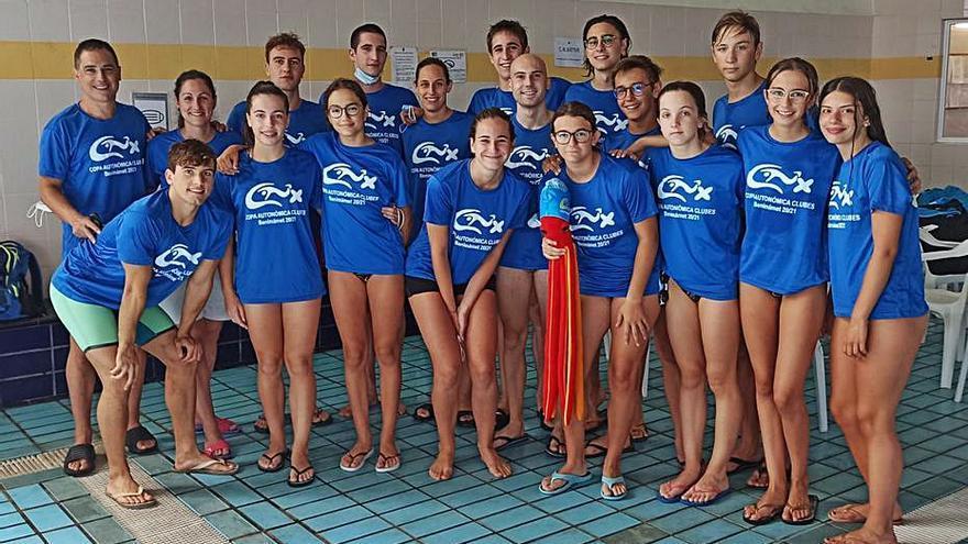 Catorce podios para el CN Xàtiva en la Copa Autonómica de Clubes