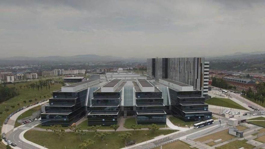 Oviedo crece por el HUCA con las nuevas promociones, que suman 600 viviendas