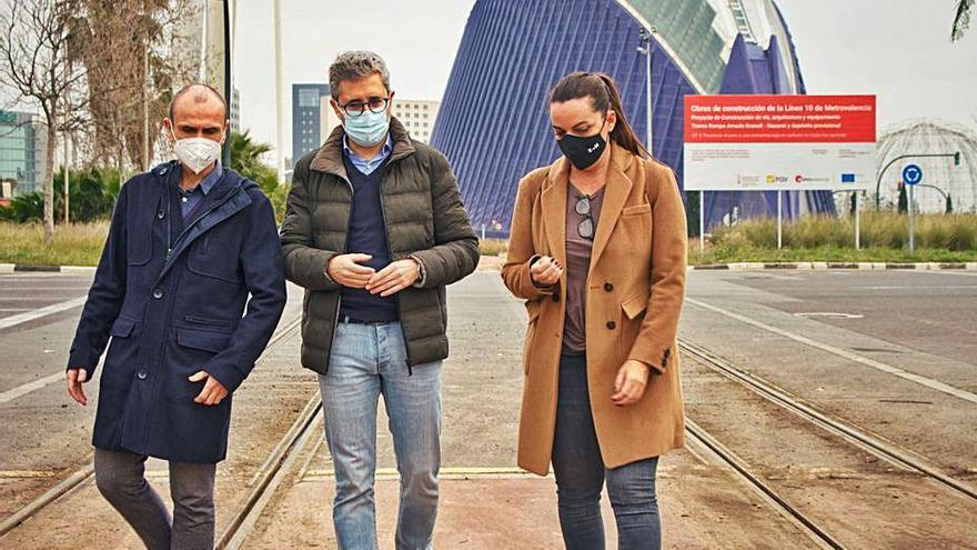 El Consell conectará Nazaret y la Ciutat de les Arts con la red de tranvía