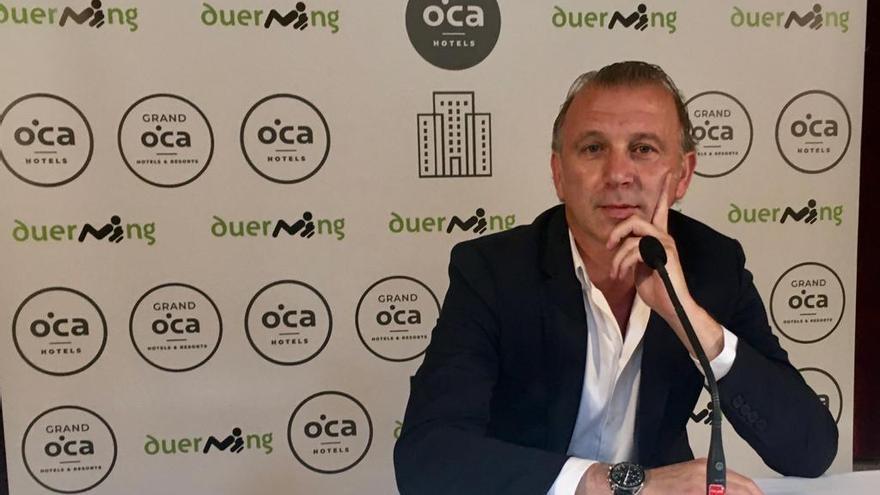 """Javi Rico: """"Nacho Méndez deseamos que renueve, pero si no lo ve claro el club está por encima"""""""