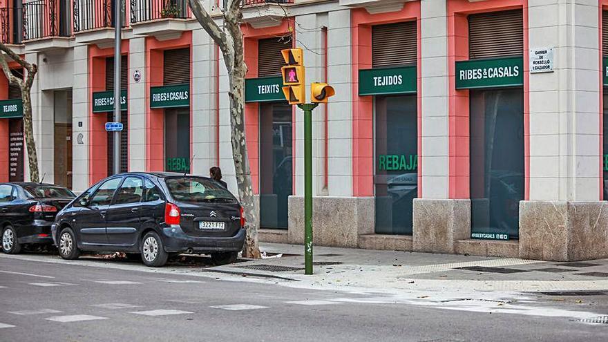 Multa a un conductor ebrio por un accidente con 4 heridos en Palma
