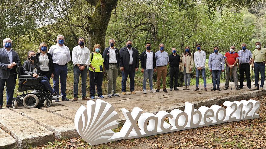 La Xunta invirtió 110.000 euros en el Camino de Invierno a su paso por Rodeiro