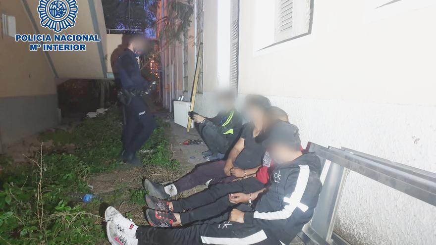 Cuatro detenidos por robar mobiliario en el asilo de Benalúa en Alicante
