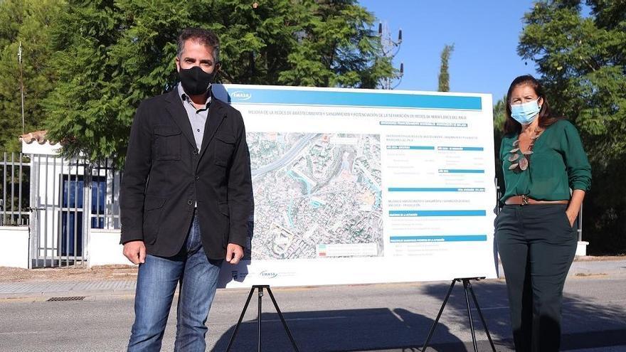 El Ayuntamiento efectúa actuaciones de mejora en el saneamiento de Miraflores de El Palo