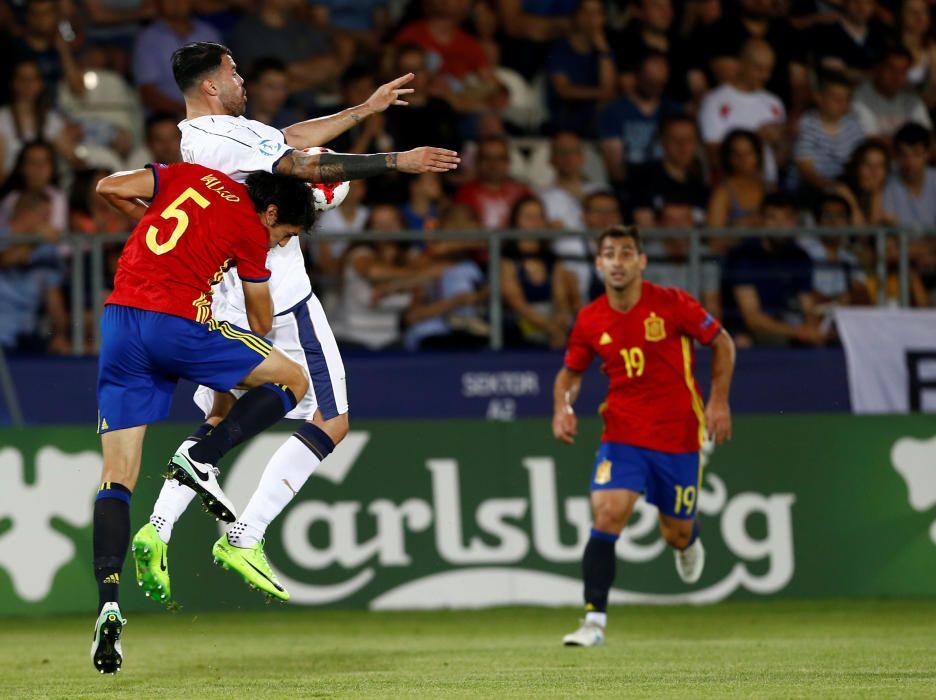 Semifinal del Europeo sub 21: España - Italia