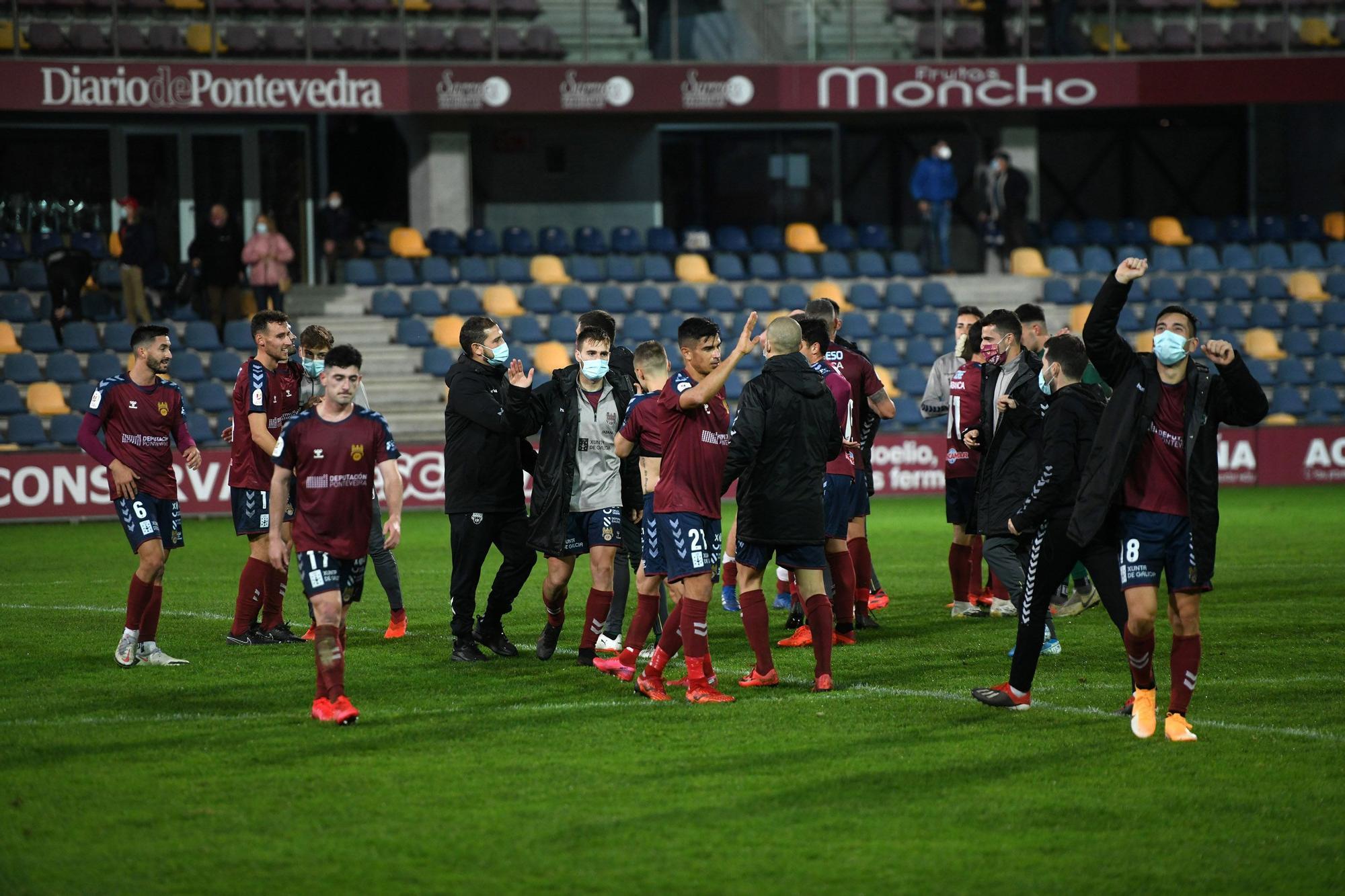 Al Pontevedra le gusta la Copa del Rey