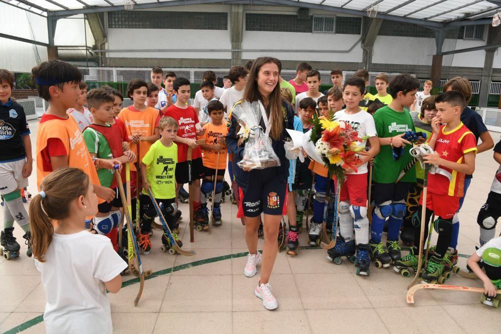María Sanjurjo, campeona del mundo en A Coruña