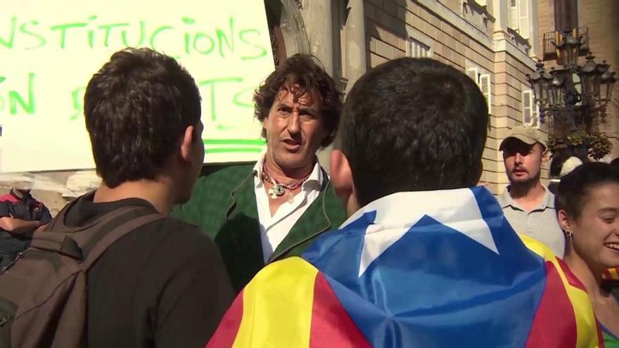 Álvaro de Marichalar, detenido en Barcelona por resistencia a los Mossos