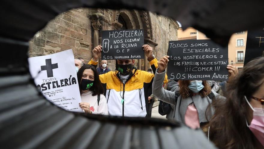 Un hostelero medio en Asturias cobraría 4.000 euros del fondo de rescate por cinco meses