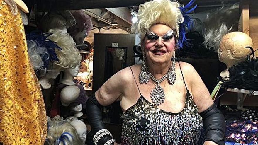 Una 'drag queen' de Guinness