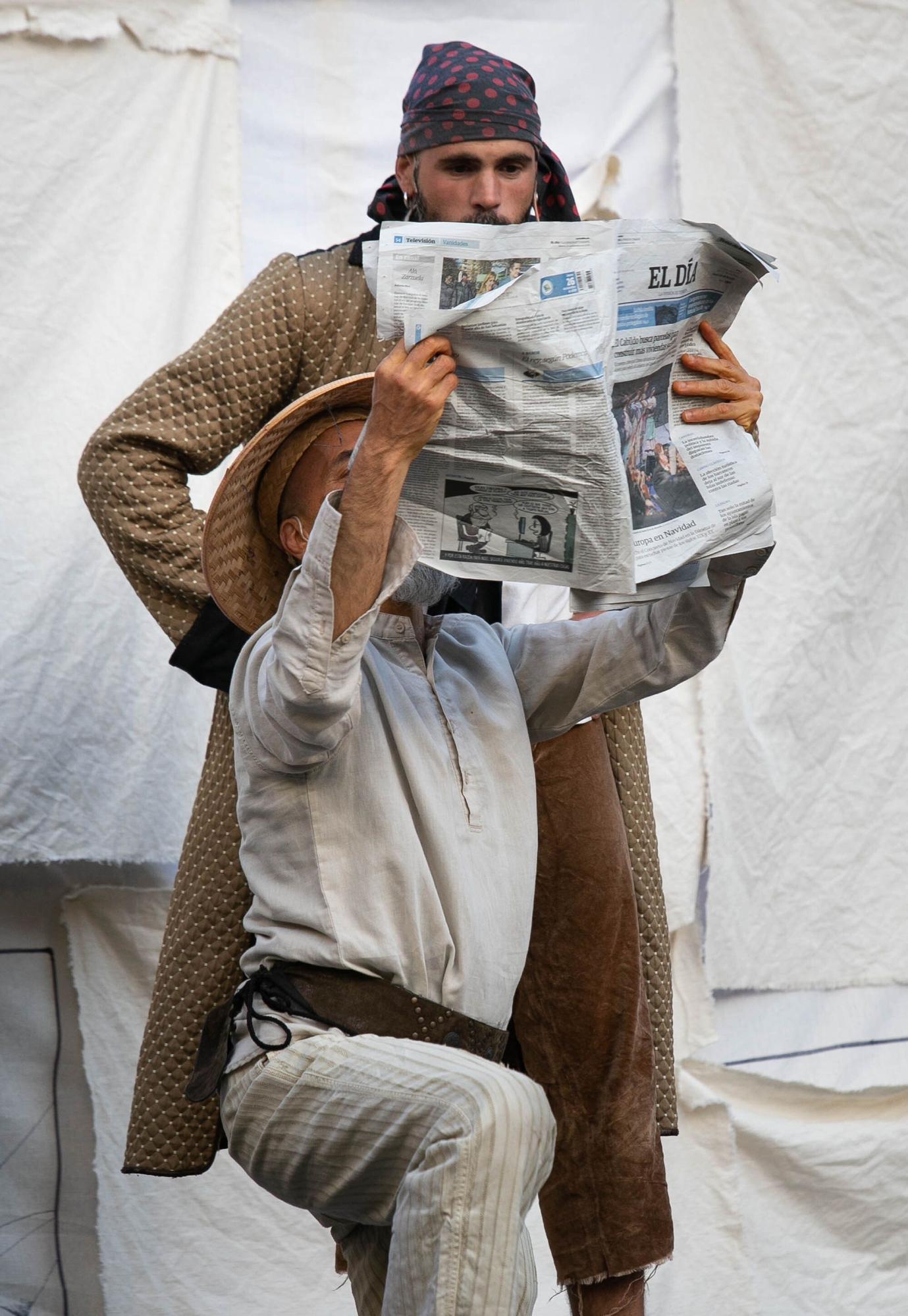 Obra de teatro de clown para fomentar la lectura