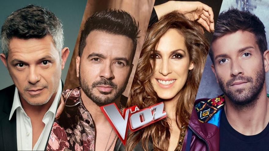 Antena 3 confirma a Alejandro Sanz, Luis Fonsi, Malú y Pablo Alborán como nuevos coaches de 'La voz'