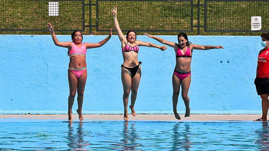 Seis piscinas... y sin calor