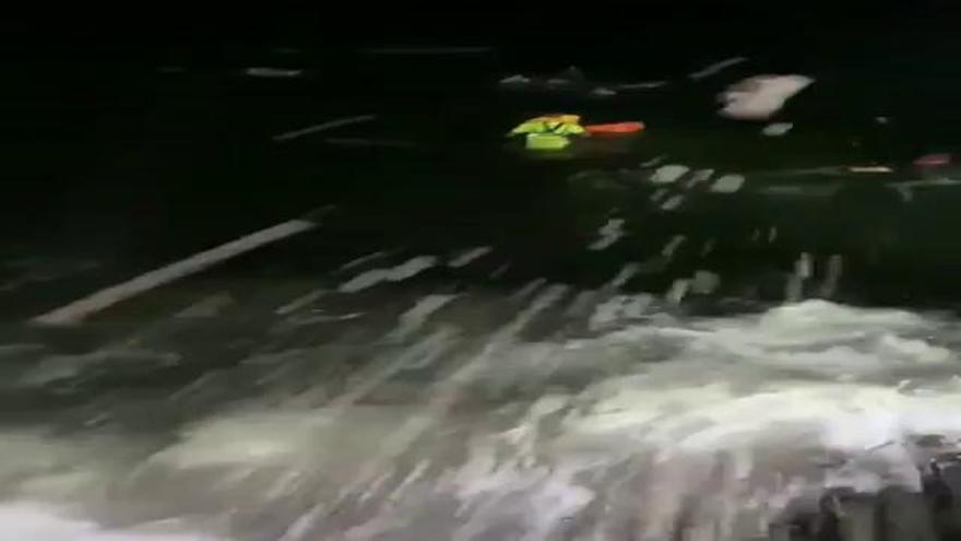 Cuatro muertos al naufragar una patera en la costa de Lanzarote