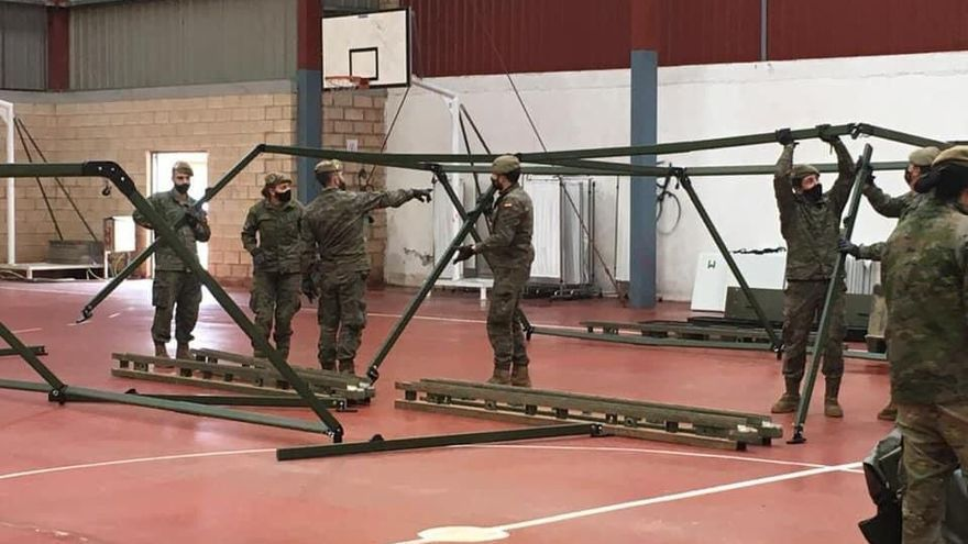 Sanidad y el Ejército preparan el cribado masivo de COVID-19 en Zamora Norte