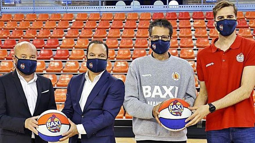 Baxi i el Bàsquet Manresa es vinculen tres anys més