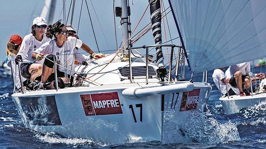 Dieses Jahr segeln die Frauen bei der Copa del Rey mit