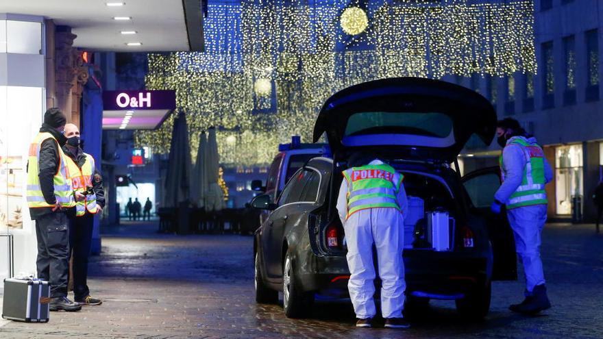 Al menos cuatro muertos en un atropello múltiple en la ciudad alemana de Tréveris
