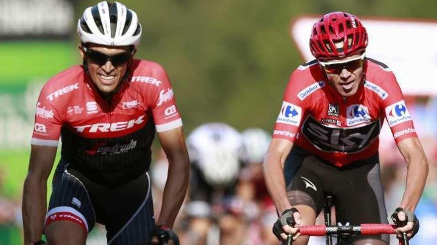 Chris Froome y Alberto Contador se medirán por última vez en Shangai y en Saitama