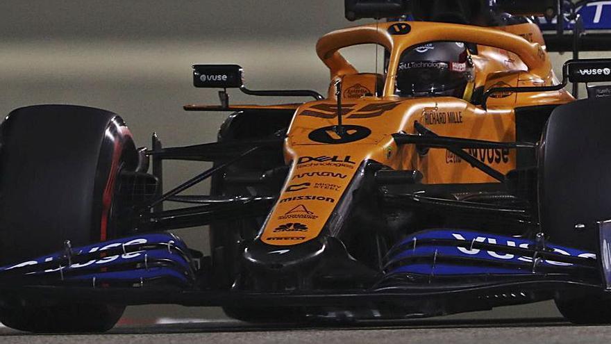 Carlos Sainz saldrá octavo en el gran Premio de Sakhir
