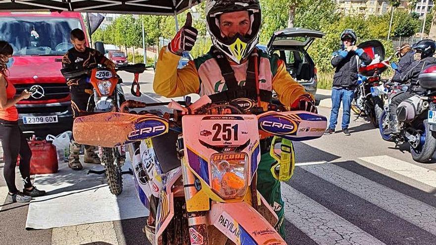 Carlos Moreiras finaliza tercero en la carrera de Castellón